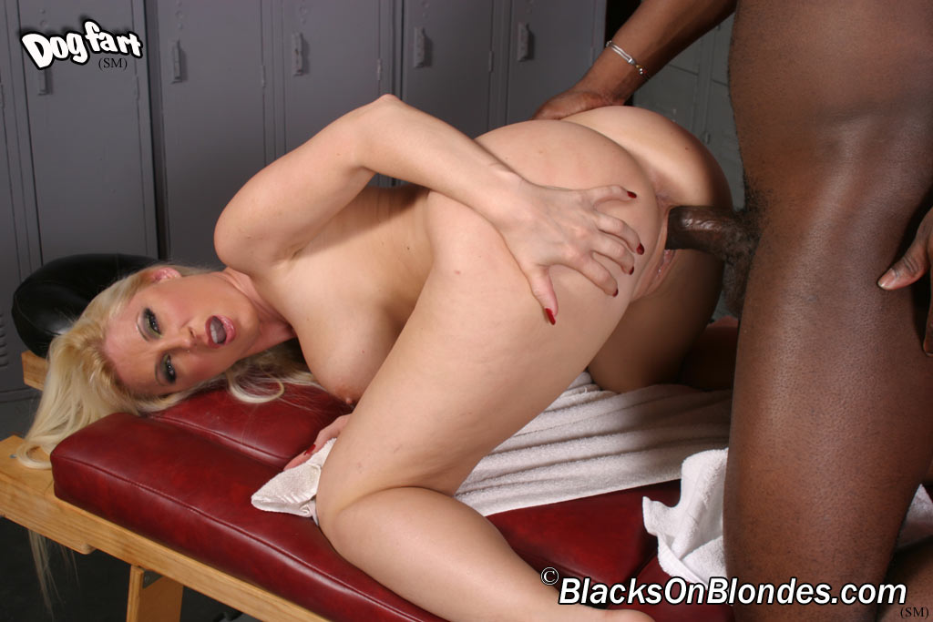 Devon lee carmmed and jammed full of giant black dick