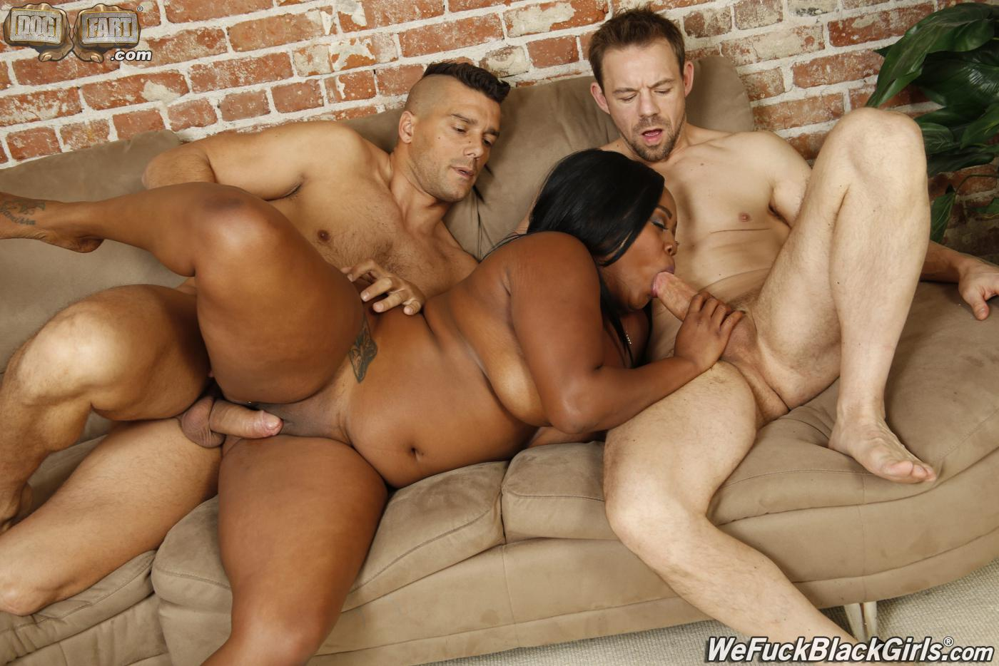 Mandingo Ebony Black Threesome