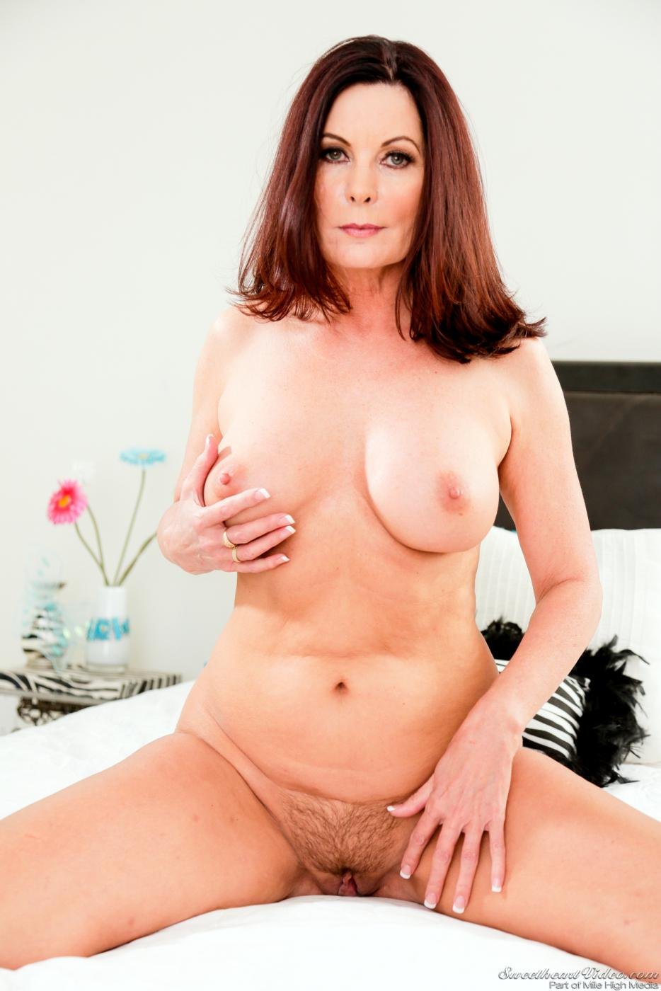 Beautiful Milf Riding Dildo